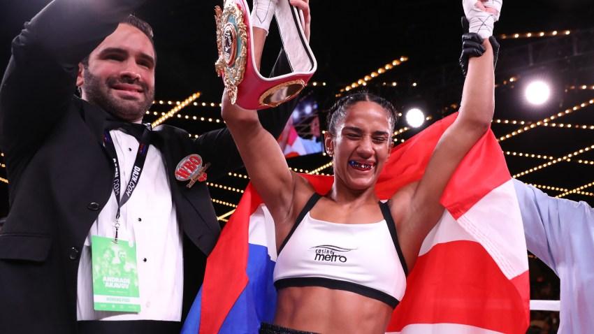 AManda Serrano boxeo