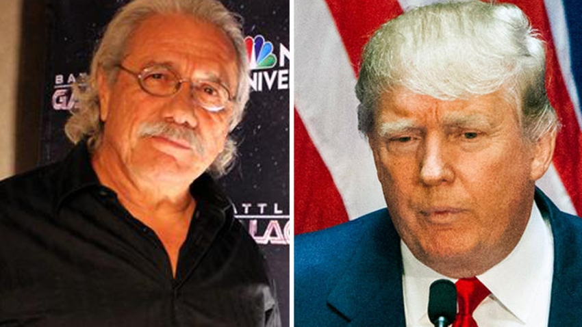 Edward-James-Olmos-Donald-Trump
