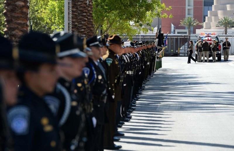 Funeral de oficiales Igor Soldo y Alyn Beck