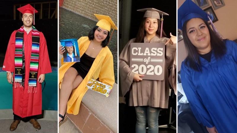 ¡Felicidades a los graduados durante la pandemia!