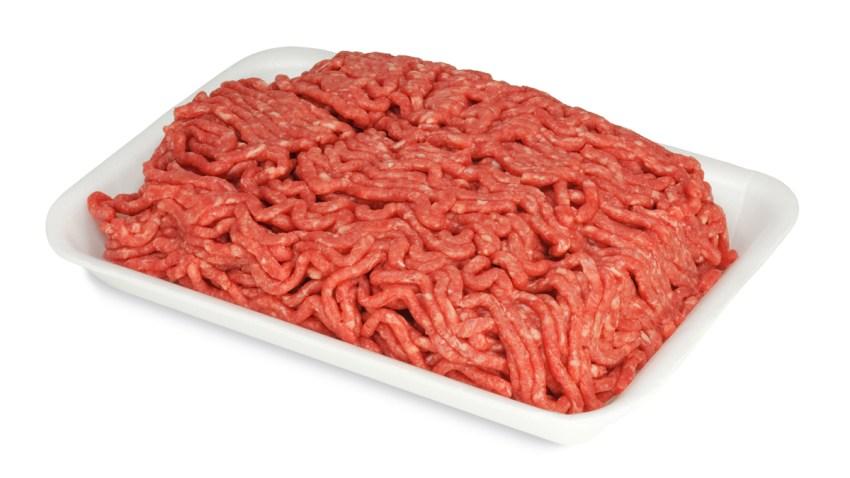 SHUTTERSTOCK carne molida