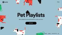 Por qué Spotify lanzó un servicio de música para tu mascota