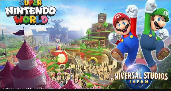 Super Nintendo World la próxima atracción de Universal Studios Japan