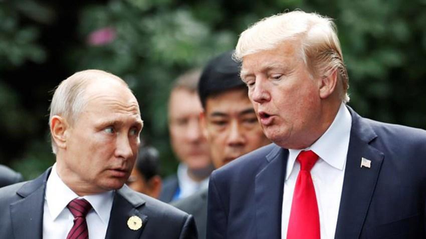 Vladimir putin donald trump armas
