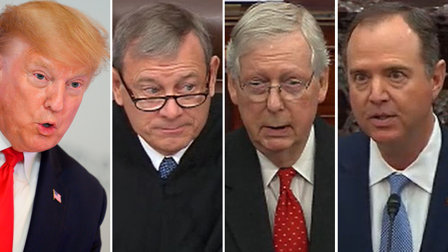 Los protagonistas del impeachment