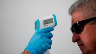 Coronavirus - prueba de temperatura