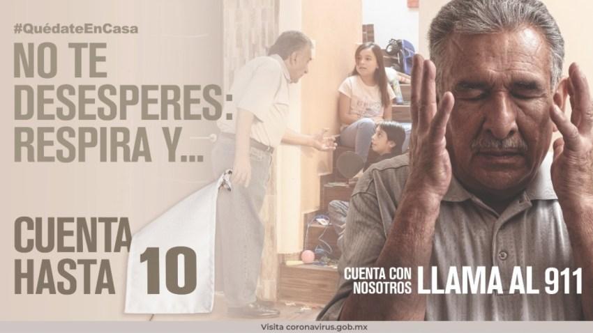 Campaña contra la violencia familiar en México