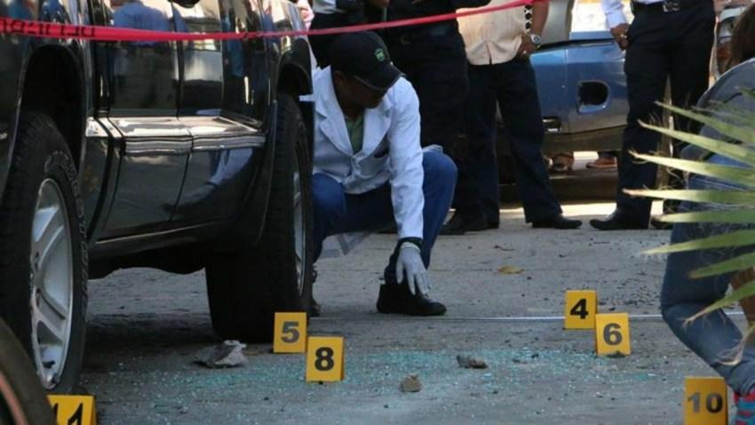Escena de crimen en México