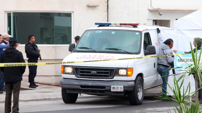 Vehículo de peritos forenses