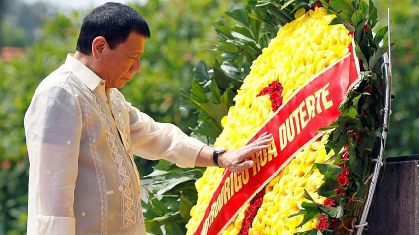 rodrigo duterte presidente filipinas