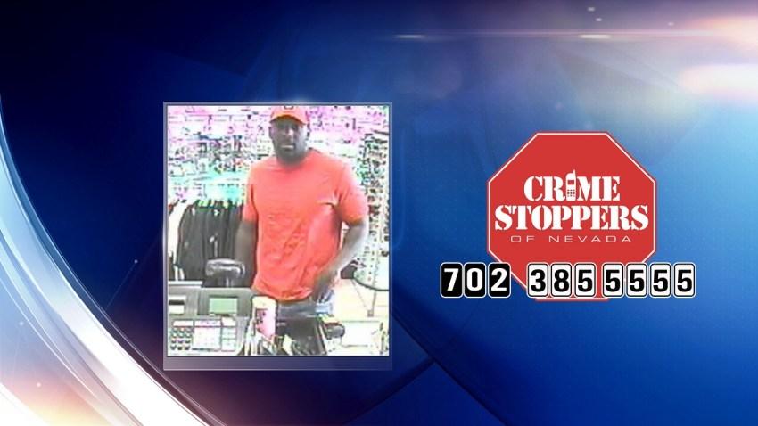 sospechoso de robo North Las Vegas