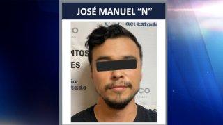 Imagen policial de un hombre detenido en Jalisco por un delito del que huyó de Nevada