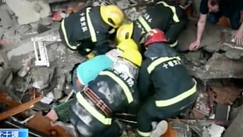 Al menos 12 muertos y 39 heridos tras una explosión de gas en el centro de  China – Telemundo Las Vegas