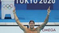 La estrella de la natación Caeleb Dressel no da tregua en Tokyo 2020 y va por más oros