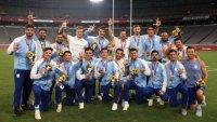 Los Pumas 7s ganaron medalla y no pueden volver a Argentina