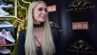 Paris Hilton llega a Colombia con su línea de zapatos