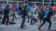 Caos en Barcelona: más de 170 heridos durante protestas