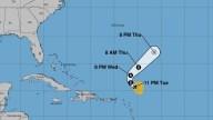 La tormenta tropical Sebastien no amenaza tierra