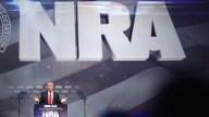 Trump llega a la Convención Anual de la NRA