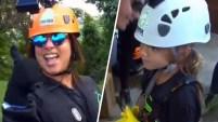 La presentadora de Un Nuevo Día y su pequeña hija viajaron a Puerto Rico para una intrépida actividad. Para ver más de Telemundo...