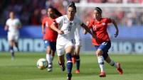 Las mejores jugadas del primer tiempo: EEUU vs Chile en el partido por la Copa Mundial Femenina de la FIFA Francia 2019.