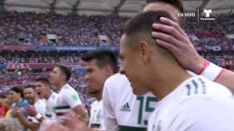 Escalofriante entonación del Himno Mexicano en Rostov de Don