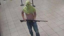 Autoridades buscan a sospechoso de un robo con escopeta