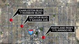 Estudio identifica las intersecciones más peligrosas de Las Vegas