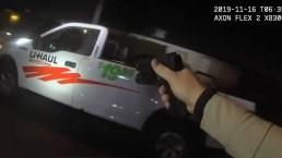 Transacción de drogas acaba en balacera con policía de Las Vegas