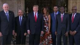 Trump se reúne con líderes de países del caribe
