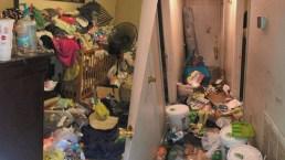 Rescatan a cuatro niños de casa en condiciones deplorables