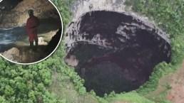 Maravillas del fondo de la tierra: descubren 19 gigantescos socavones