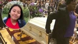 Adiós Hania: la emotiva despedida a la niña hispana secuestrada y asesinada