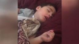 Niño de Las Vegas deja de respirar cuando se va a dormir