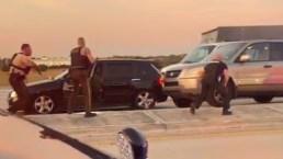 Momentos de terror tras persecución mortal en el sur de Florida