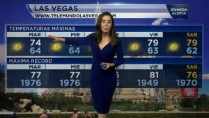 Descripción del tiempo en Las Vegas