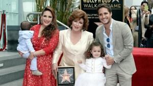 El brillo de Angélica María ya ilumina a Hollywood