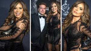 Gloria Trevi llega con su esposo a evento y despeja rumores de divorcio
