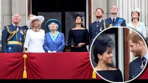 Todas con broche menos Meghan, lo que aprendió hoy de la realeza
