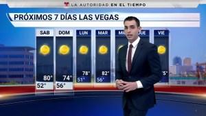 Descripción de las temperaturas en el área de Las Vegas