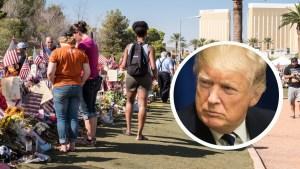 """Trump """"decepcionado"""" por reporte del FBI sobre masacre"""