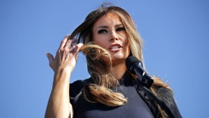 Melania Trump ya es marca registrada en su país natal