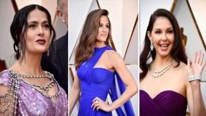 """No """"Dress Code""""; los vestidos más coloridos de los Óscar"""