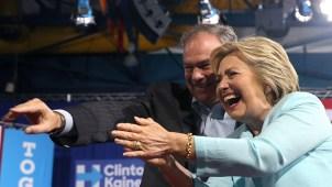 Clinton y Tim Kaine, la fórmula presidencial demócrata