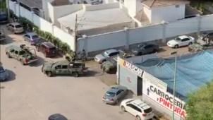 Reportan balaceras en Sinaloa; militares se despliegan