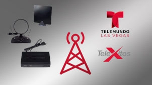 Cómo ver Telemundo Las Vegas usando antena digital