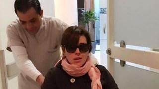 Alicia Machado, en el hospital de urgencias