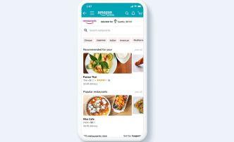 Amazon cancela servicio de comidas a domicilio