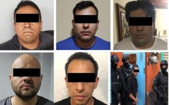 Capturan a cinco integrantes del Cartel Jalisco
