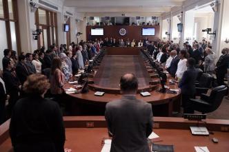 Doce países denuncian en OEA intransigencia de Ortega